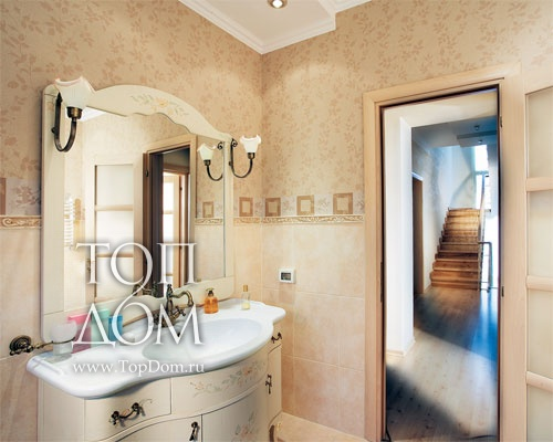 Интерьер ванной и туалета интерьер